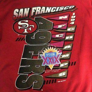 Vintage 1994 San Francisco 49 ers Sweatshirt